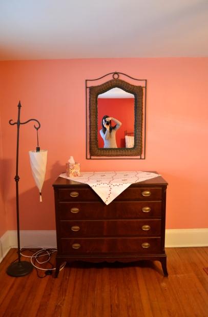 mirror and bureau