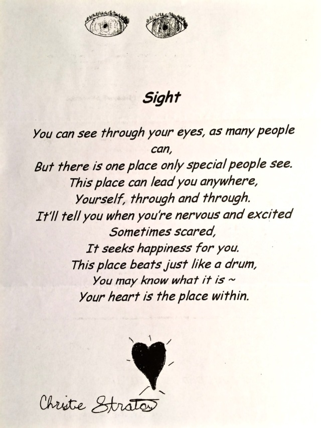 Sight poem